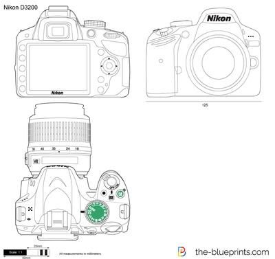 Vector Drawing Preview Nikon D3200