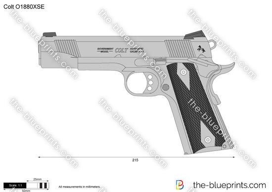 Colt O1880XSE