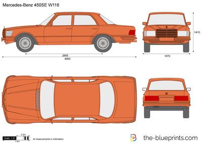 Mercedes-Benz 450SE …