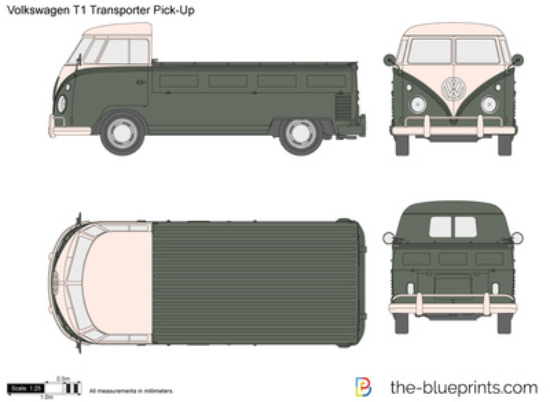Volkswagen T1 Transporter Pick-Up