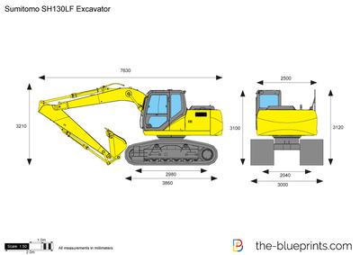 Sumitomo SH130LF Excavator