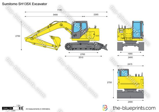 Sumitomo SH135X Excavator