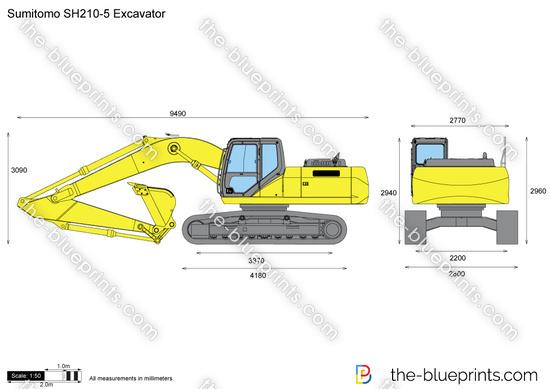 Sumitomo SH210-5 Excavator