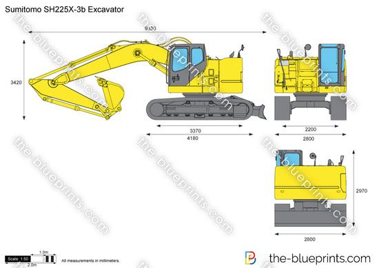 Sumitomo SH225X-3b Excavator