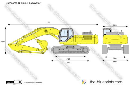 Sumitomo SH330-5 Excavator
