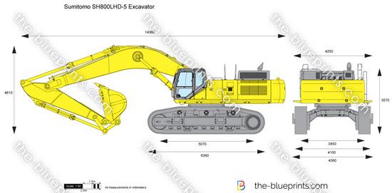 Sumitomo SH800LHD-5 Excavator
