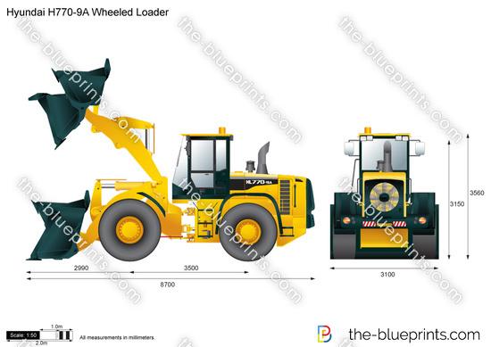 Hyundai H770-9A Wheeled Loader