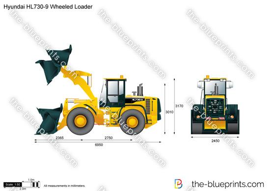 Hyundai HL730-9 Wheeled Loader