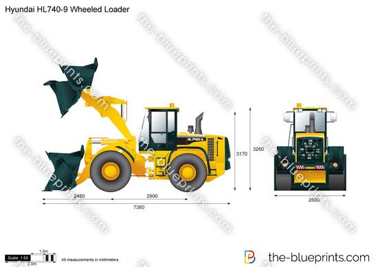 Hyundai HL740-9 Wheeled Loader