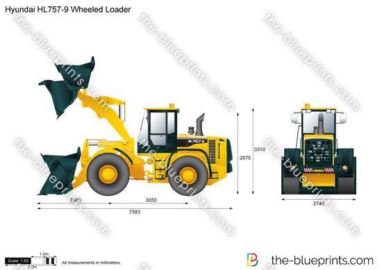 Hyundai HL757-9 Wheeled Loader