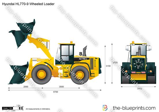 Hyundai HL770-9 Wheeled Loader