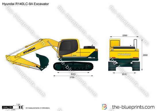 Hyundai R140LC-9A Excavator