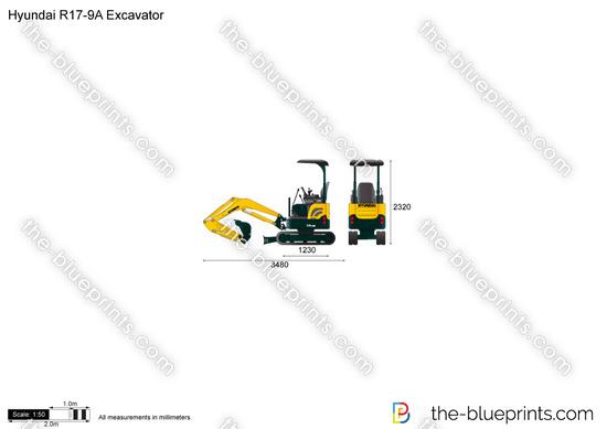 Hyundai R17-9A Excavator