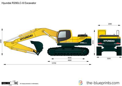 Hyundai R290LC-9 Excavator