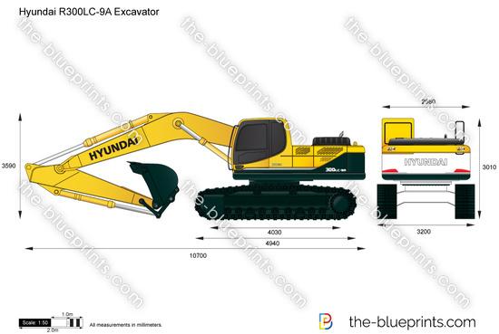 Hyundai R300LC-9A Excavator