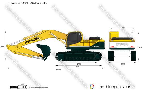 Hyundai R330LC-9A Excavator