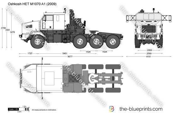 Oshkosh HET M1070 A1