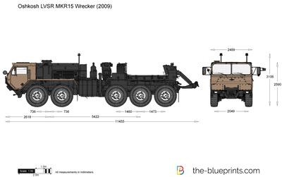 Oshkosh LVSR MKR15 Wrecker