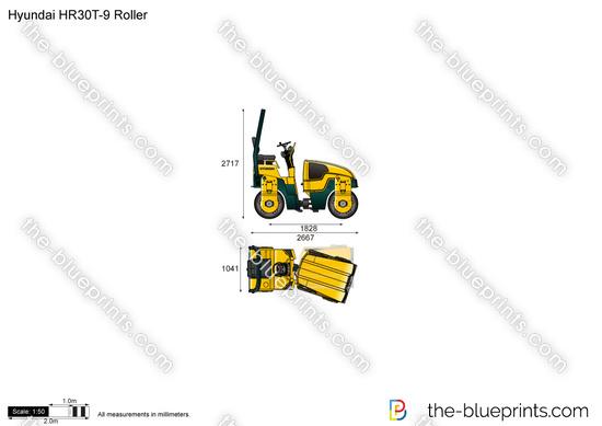 Hyundai HR30T-9 Roller