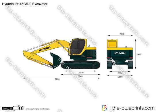 Hyundai R145CR-9 Excavator