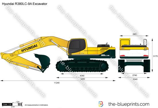 Hyundai R380LC-9A Excavator