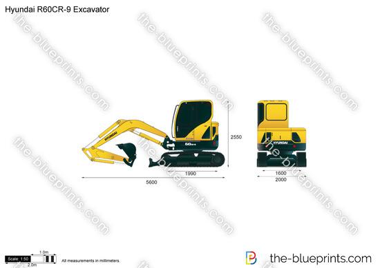Hyundai R60CR-9 Excavator