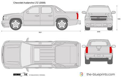 Chevrolet Avalanche LTZ (2008)