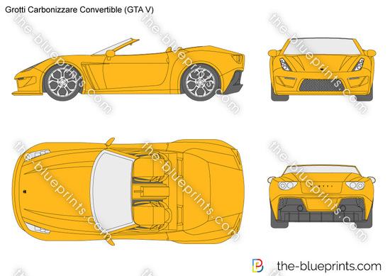 Grotti Carbonizzare Convertible (GTA V)