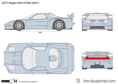JGTC Mugen NSX GT500