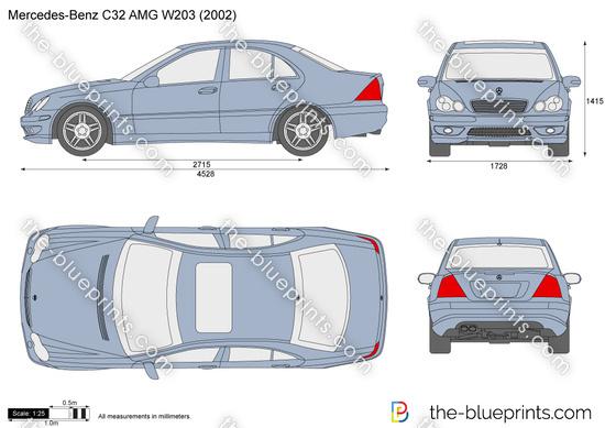 Mercedes-Benz C32 AMG W203