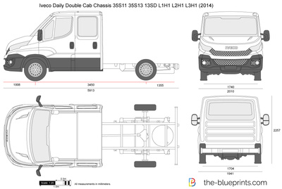 Iveco Daily Double Cab Chassis 35S11 35S13 13SD L1H1