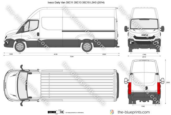 Iveco Daily Van 35C11 35C13 35C15 L3H3