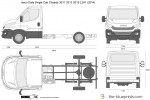 Iveco Daily Single Cab Chassis 3S11 3S13 3S15 L2H1