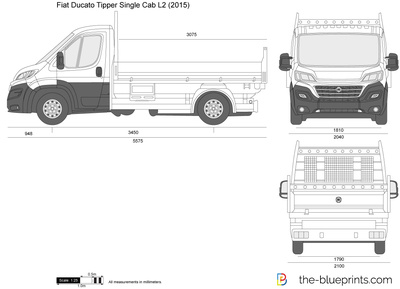 Fiat Ducato Tipper Single Cab L2