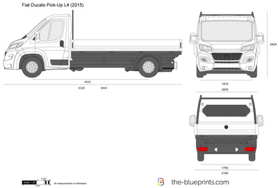 Fiat Ducato Pick-Up L4