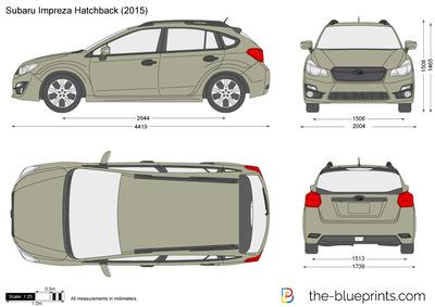 Subaru Impreza Hatchback (2015)