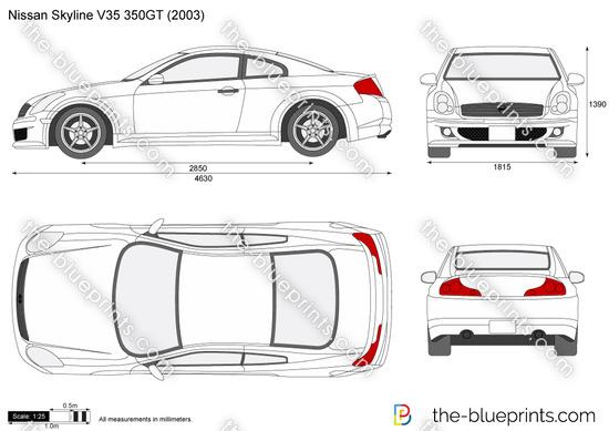 Nissan Skyline V35 350GT