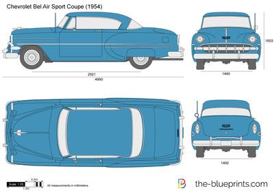 Chevrolet Bel Air Sp…