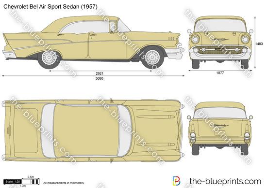 Chevrolet Bel Air Sport Sedan