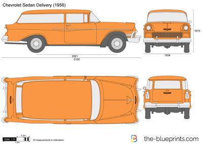Chevrolet Sedan Delivery (1956)