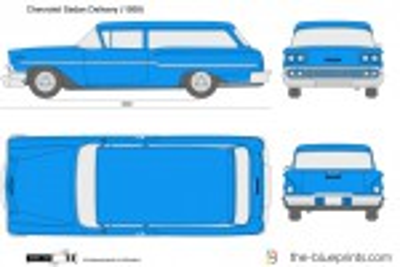 Chevrolet Sedan Delivery (1958)