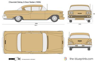 Chevrolet Delray 2-Door Sedan (1958)