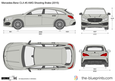 Mercedes-Benz CLA 45 AMG Shooting Brake