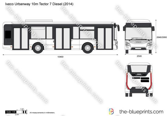 Iveco Urbanway 10m Tector 7 Diesel