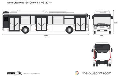 Iveco Urbanway 12m Cursor 8 CNG (2014)