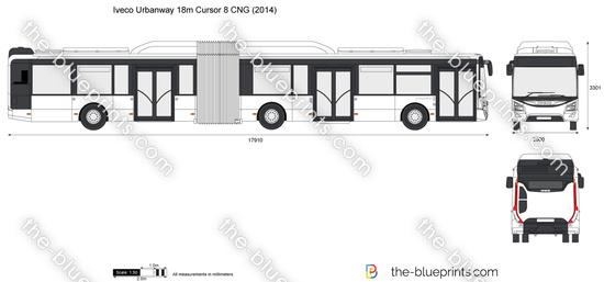 Iveco Urbanway 18m Cursor 8 CNG