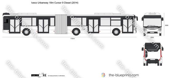 Iveco Urbanway 18m Cursor 9 Diesel