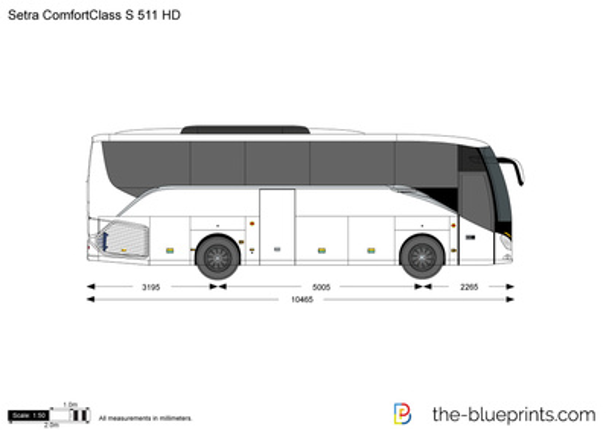 Setra ComfortClass S 511 HD
