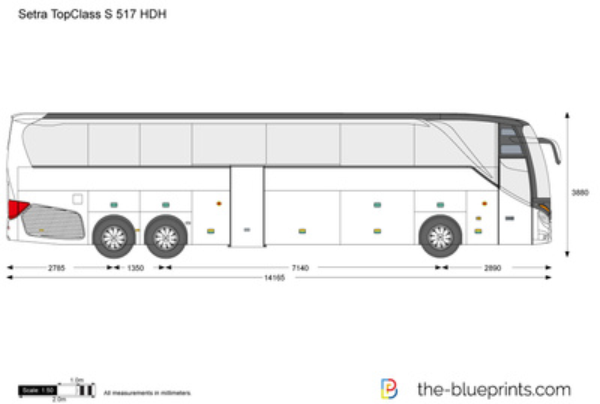 Setra TopClass S 517 HDH