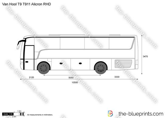 Van Hool T9 T911 Alicron RHD